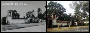 Dom rodziny Halików w Meksyku w latach sześćdziesiątych XX w. (zdjęcie pochodzi z archiwów Dariusza Kosińskiego) oraz współczesny wygląd na fotografii wykonanej przez Agnieszkę Grudowską.