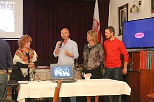 Halikowa prezentacja w Ognisku Polskim w Buenos Aires. fot. Krzysztof Miduch